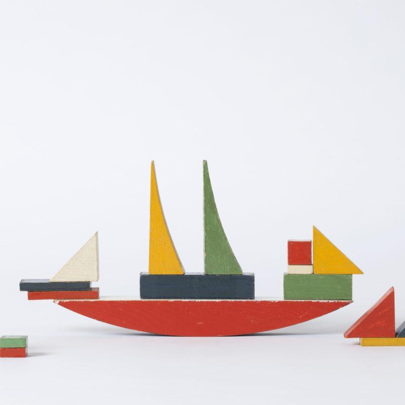 Alma Siedhoff-Buscher, Schiffbauspiel, 1923, Bauhaus, Weimar. Foto: Die Neue Sammlung – The Design Museum (A. Laurenzo)