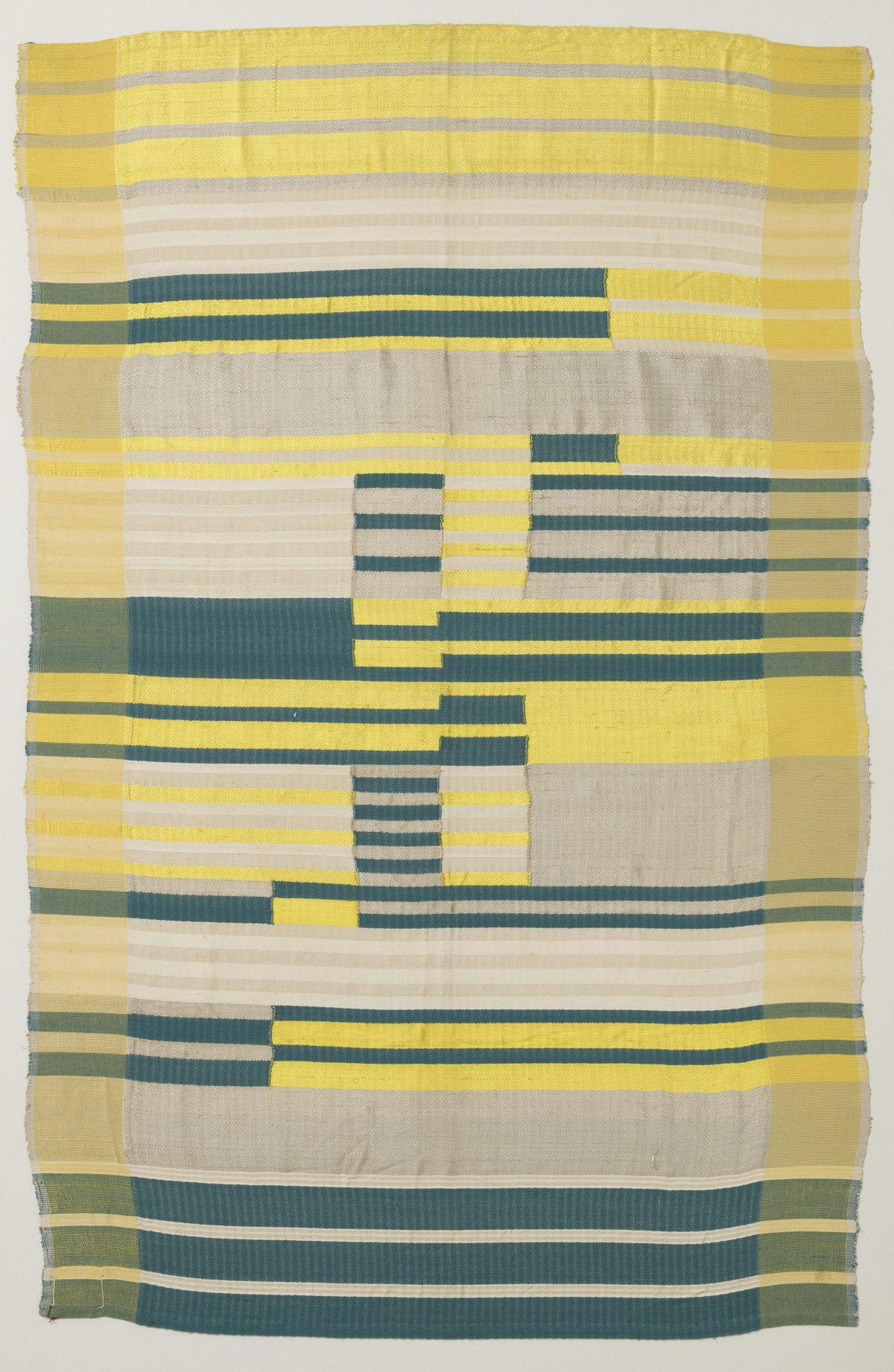 Albers, Anni, Wandbehang Nr. 81, 1925, Gewebe, Herst.: Staatliches Bauhaus, Dessau, Foto: Die Neue Sammlung — The Design Museum