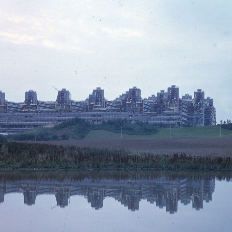 Universitätsklinikum Aachen, Weber, Brand und Partner, Aachen, 1971-1985, Foto: Günter Claus, 1980