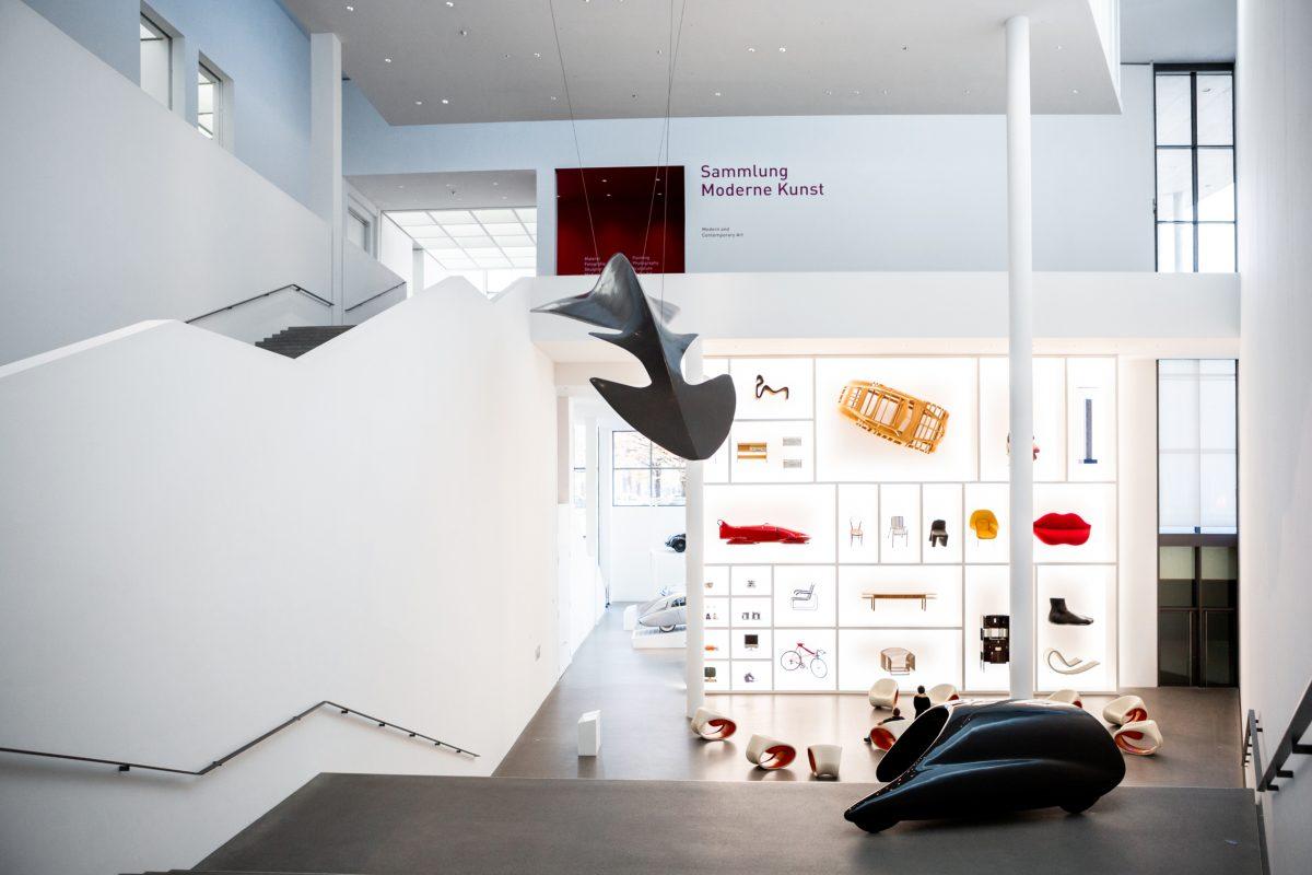 Führungen zu Kunst, Graphik, Architektur sowie Design finden an nahezu jedem Tag statt, Foto: Anna Seibel