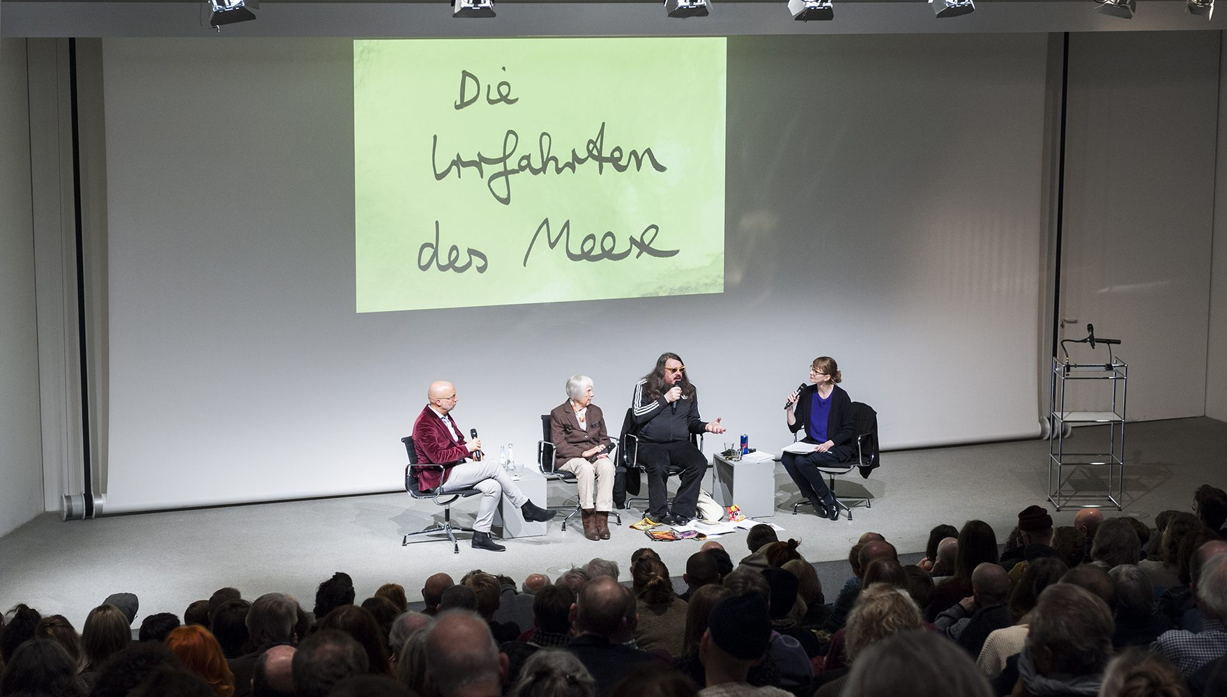 Jonathan Meese im Gespräch mit Swantje Grundler und Bernhart Schwenk