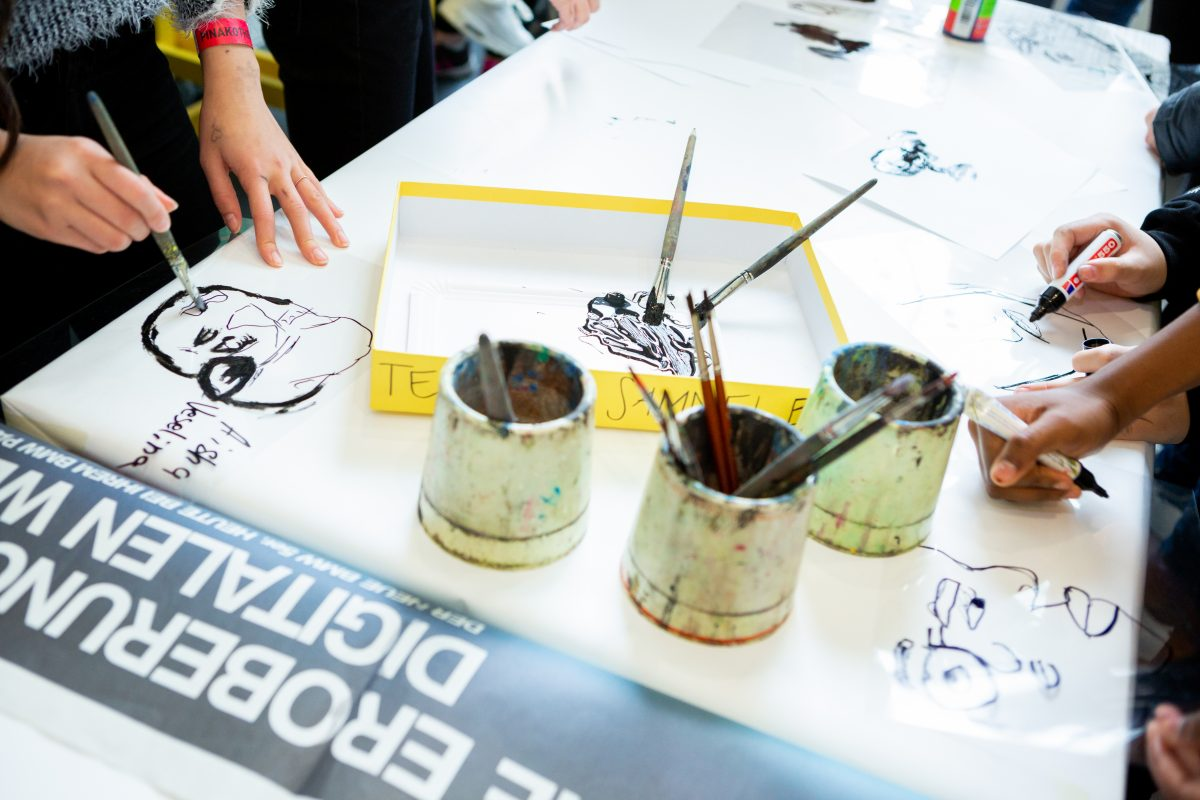 Kinder können Kunst... jeden Sonntag zu wechselnden Themen
