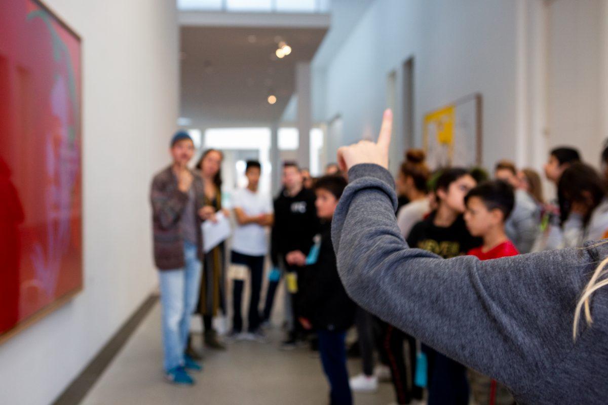 Als Pi.loten stehen Jugendliche mit Expertenwissen Rede und Antwort, Foto: Anna Seibel