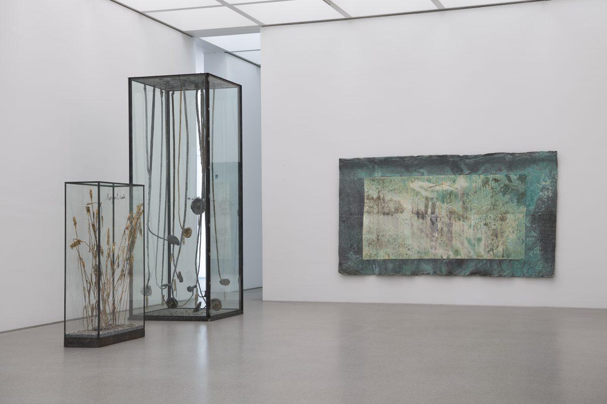 Ansicht von Saal 30 mit Arbeiten von Anselm Kiefer © Bayerische Staatsgemäldesammlungen, Foto: Haydar Koyupinar