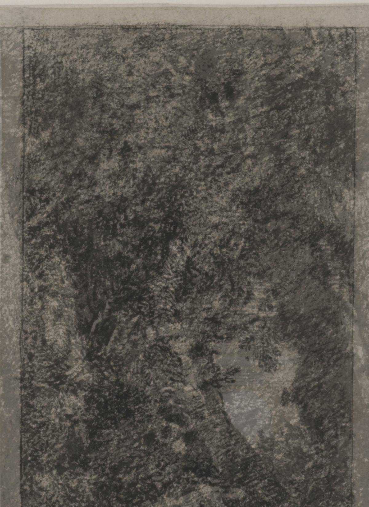 Arnold Böcklin, Das Irrlicht, um 1855/60, Feder und Pinsel in Schwarz, grau laviert, weiß gehöht, mit Federlinie umrandet, auf hellbräunlichem Papier, 280 x 206 mm Blattmaß © Staatliche Graphische Sammlung München