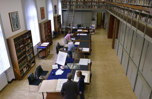 Studiensaal der Staatlichen Graphischen Sammlung München