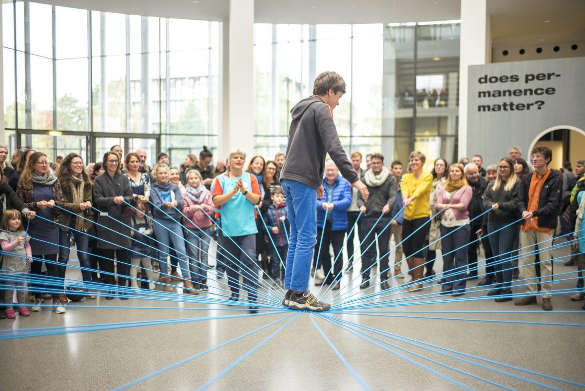 Pinakothek der Moderne, TOGETTHERE XPERIENCE 2017, Foto: Falk Kagelmacher