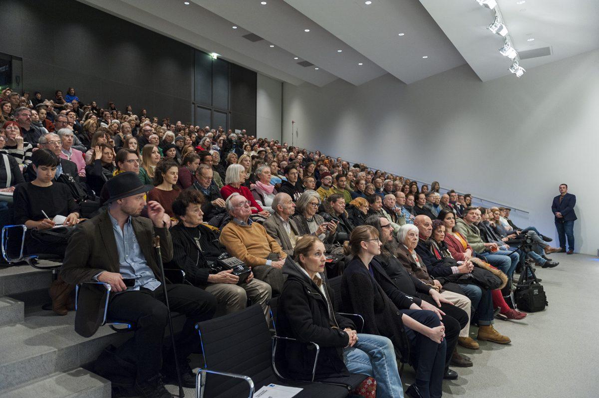 Vortrag im Ernst von Siemens-Auditorium der Pinakothek der Moderne