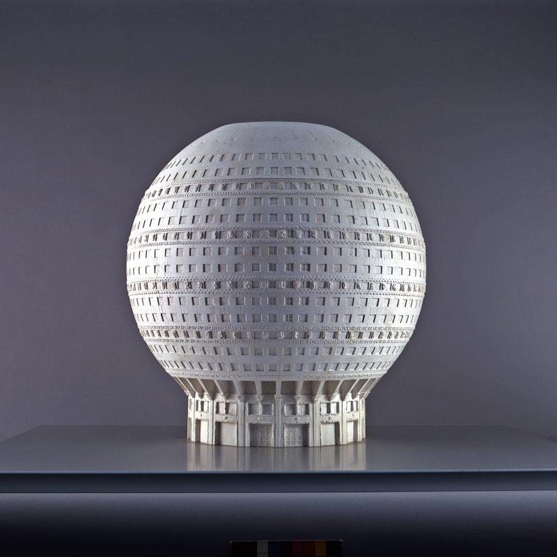 Peter Birkenholz: Kugelhaus, 1928 © Architekturmuseum der TUM