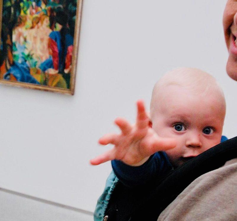 Mit den Känguruführungen bieten wir ein Format für die Kleinsten (und natürlich deren Eltern!)