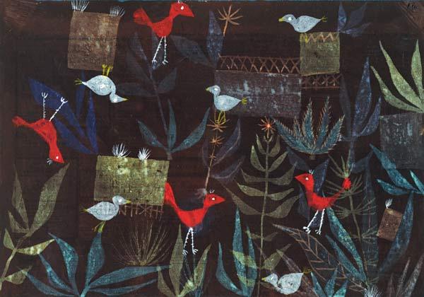 Paul Klee, Vogelgarten, 1924