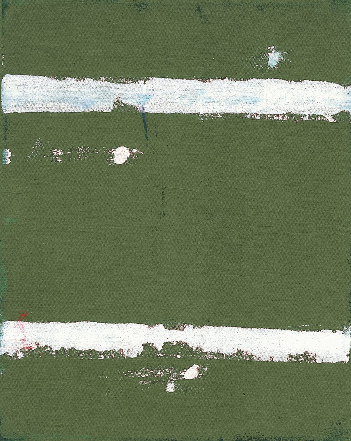 Raoul De Keyser, Hellepoort 7, 1985, Öl auf Leinwand, 50 x 40 cm, S.M.A.K. Stedelijk Museum voor Actuele Kunst, Gent © Familie Raoul De Keyser | SABAM Belgien 2018, Foto: Kristien Daem