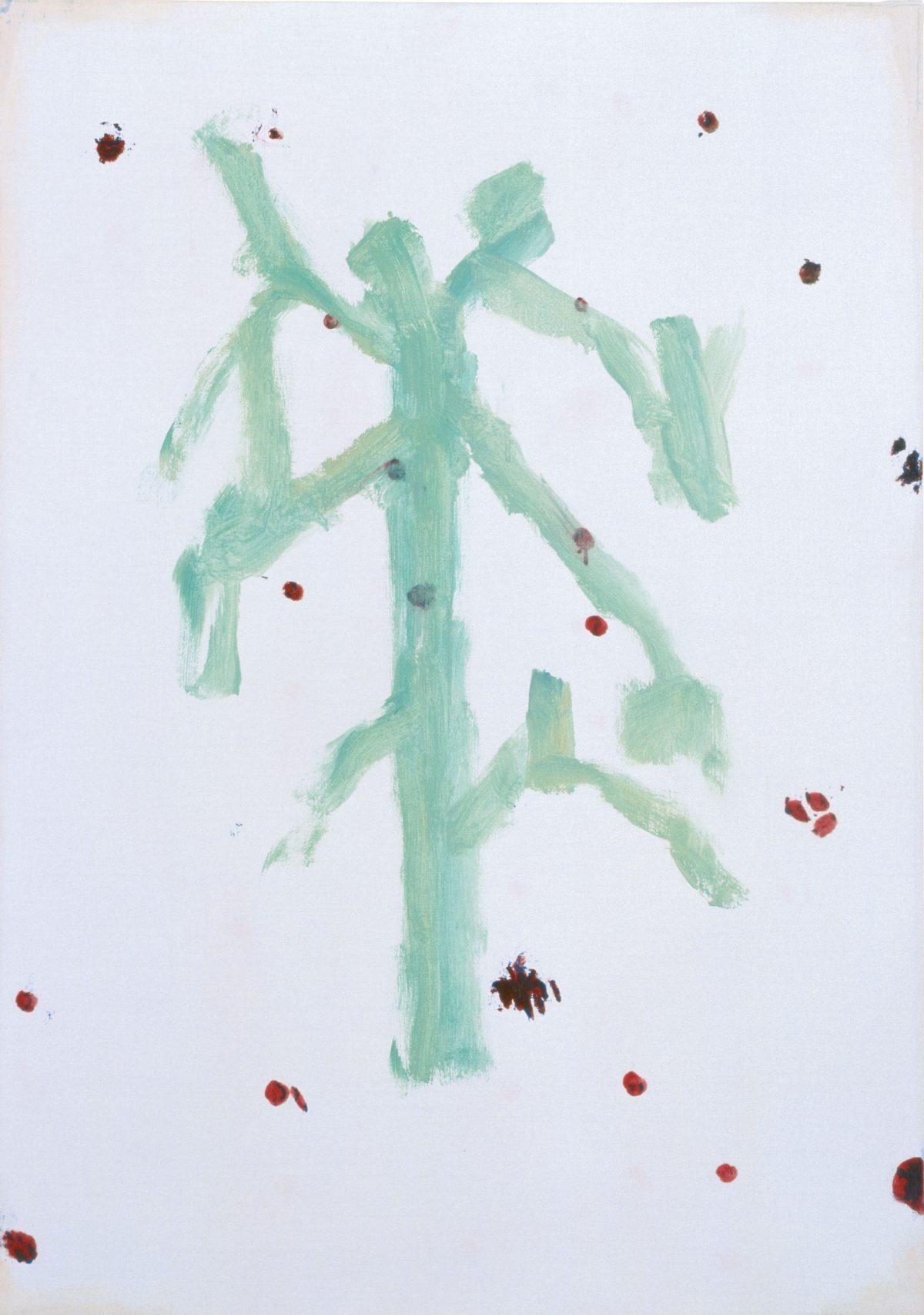 Raoul De Keyser, Séjour, 2001 Öl auf Leinwand, 71 x 50 cm © Familie Raoul De Keyser   SABAM Belgien 2018, Sammlung Jin Sato, Foto: Felix Tirry