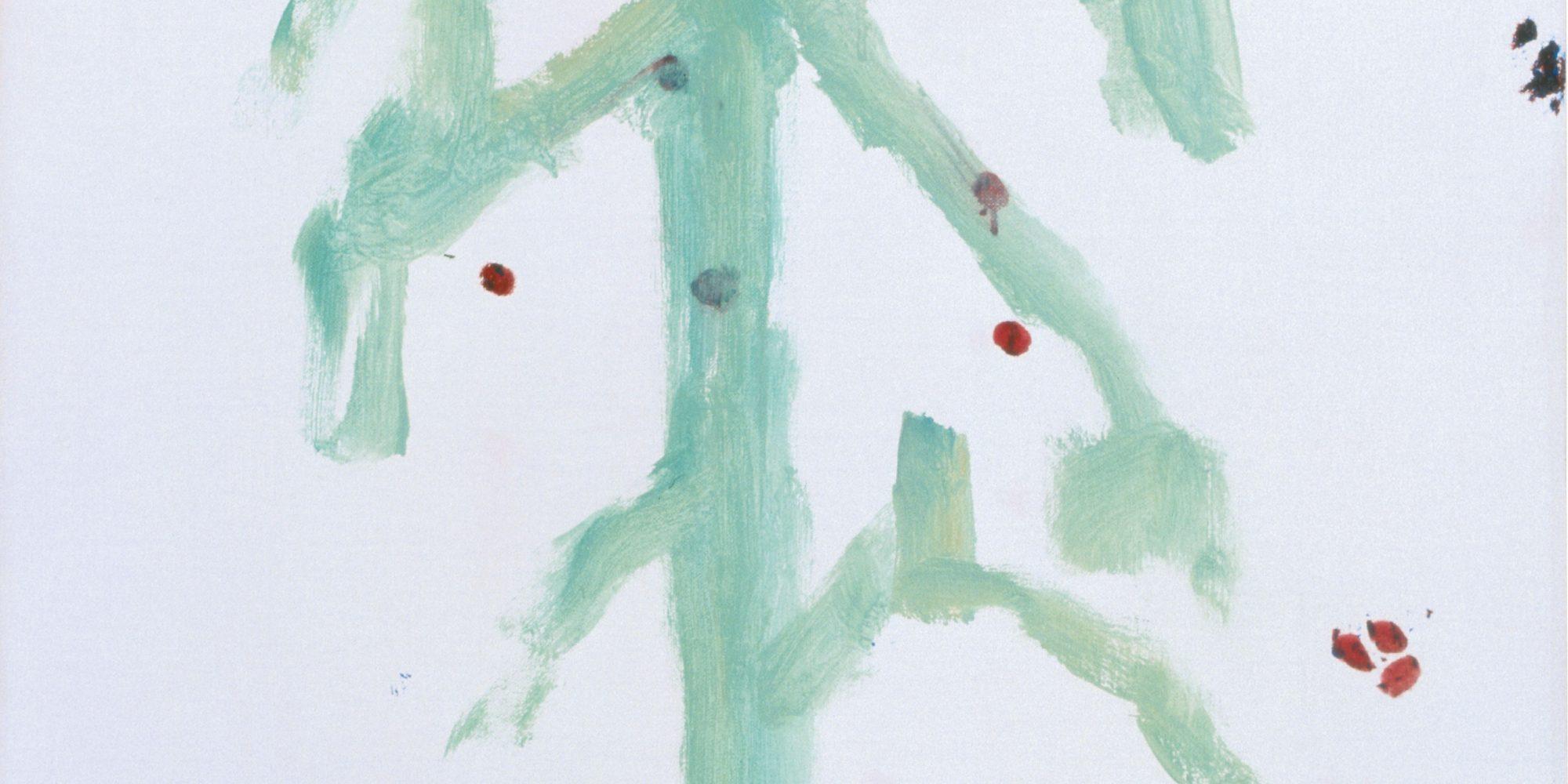 Raoul De Keyser, Séjour, 2001 Öl auf Leinwand, 71 x 50 cm © Familie Raoul De Keyser | SABAM Belgien 2018, Sammlung Jin Sato, Foto: Felix Tirry