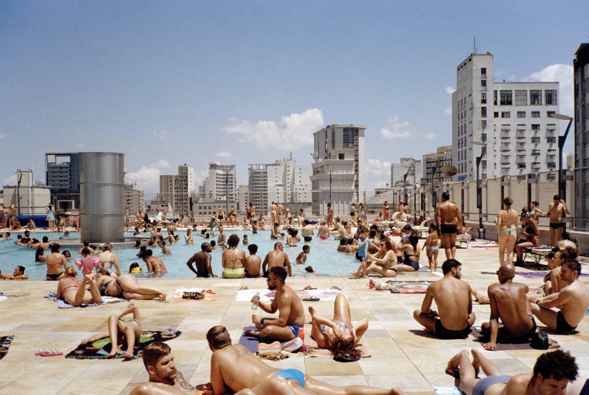 Schwimmbad im 13. Stock Dachterasse des SESC 24 de Maio, São Paulo © Ciro Miguel 2018