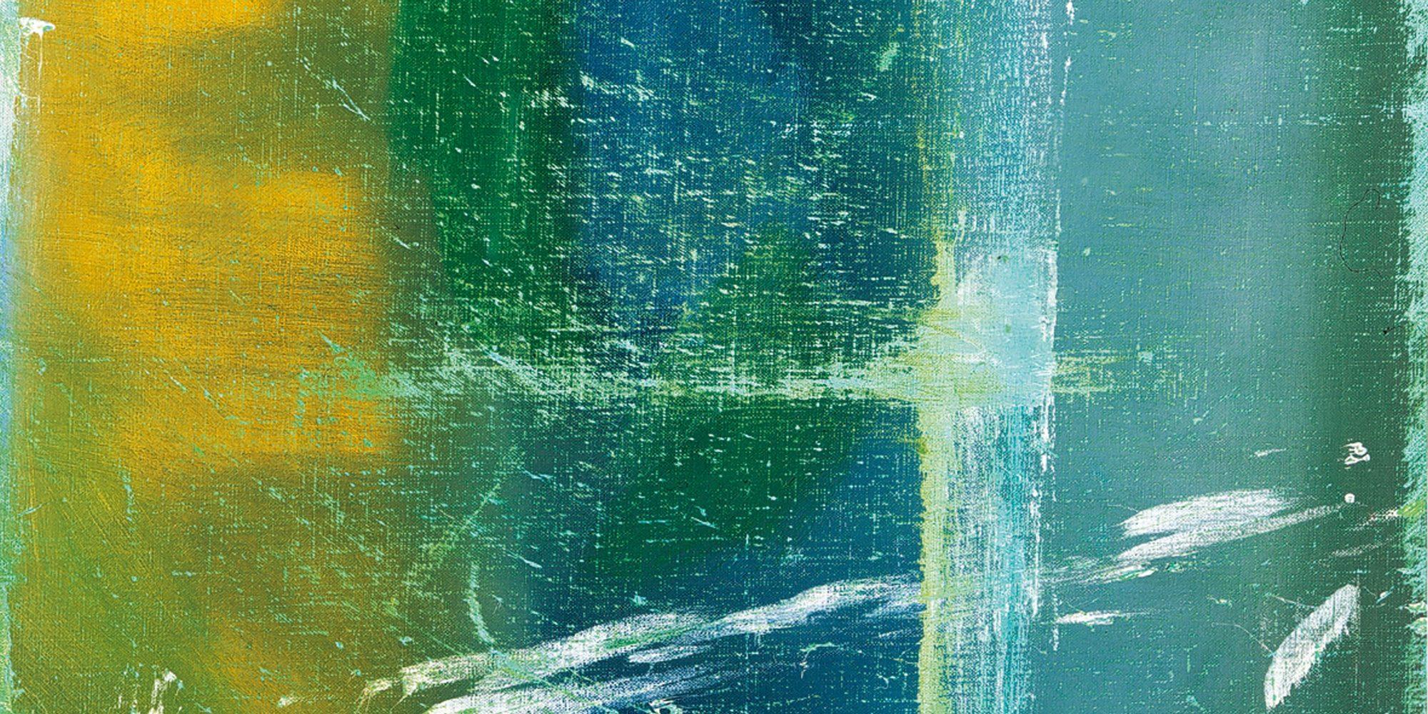 Raoul De Keyser, Zinkend (Luc), 1982-83, Öl auf Leinwand, 65 x 54 cm, Privatsammlung © Familie Raoul De Keyser | SABAM Belgien 2018, Foto: Hilde D'haeyere