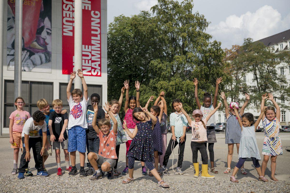 Das Sommerferienprogramm der Pinakothek der Moderne, Foto: Falk Kagelmacher