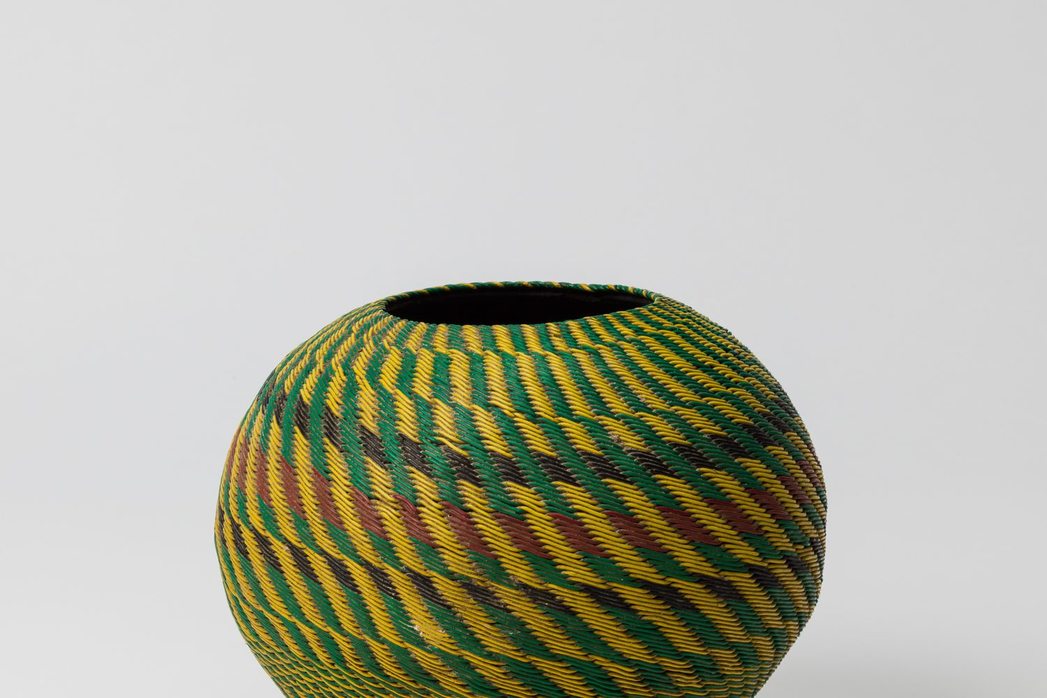 Biergefäß (ukhamba), Zulu Kultur, Südafrika, 20. Jahrhundert
