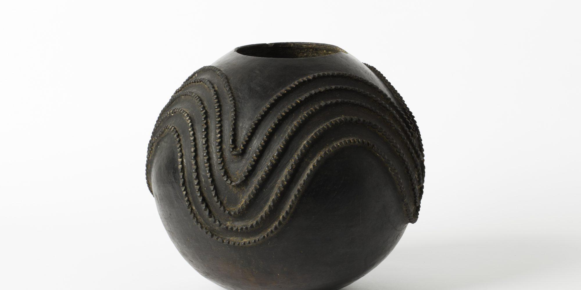 Azolina MaMncube Ngema, Biergefäß, 20. Jahrhundert, Südafrika / Zulu