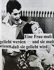 Astrid Klein, Eine Frau muß geliebt werden- (A woman must be loved ), 1978, Photo: Sprüth Magers © Astrid Klein