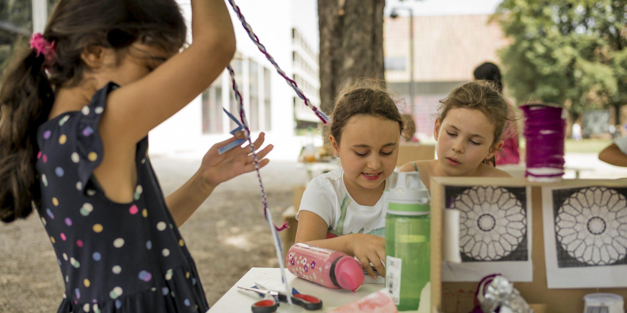 Kinder können Kunst...